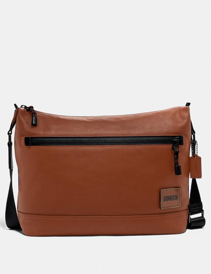 Coach Pacer Messenger Ji/Saddle Cyber Monday Men's Cyber Monday Sale Bags