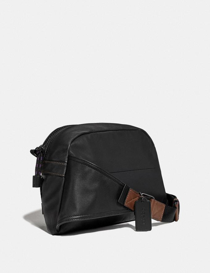 Coach Pacer Sport Pack With Coach Patch Black Copper/Black Men Bags Messenger & Crossbody Alternate View 1