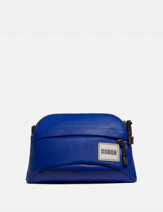 Coach Pacer Sport Pack With Coach Patch Black Copper/Sport Blue New Men's New Arrivals Bags