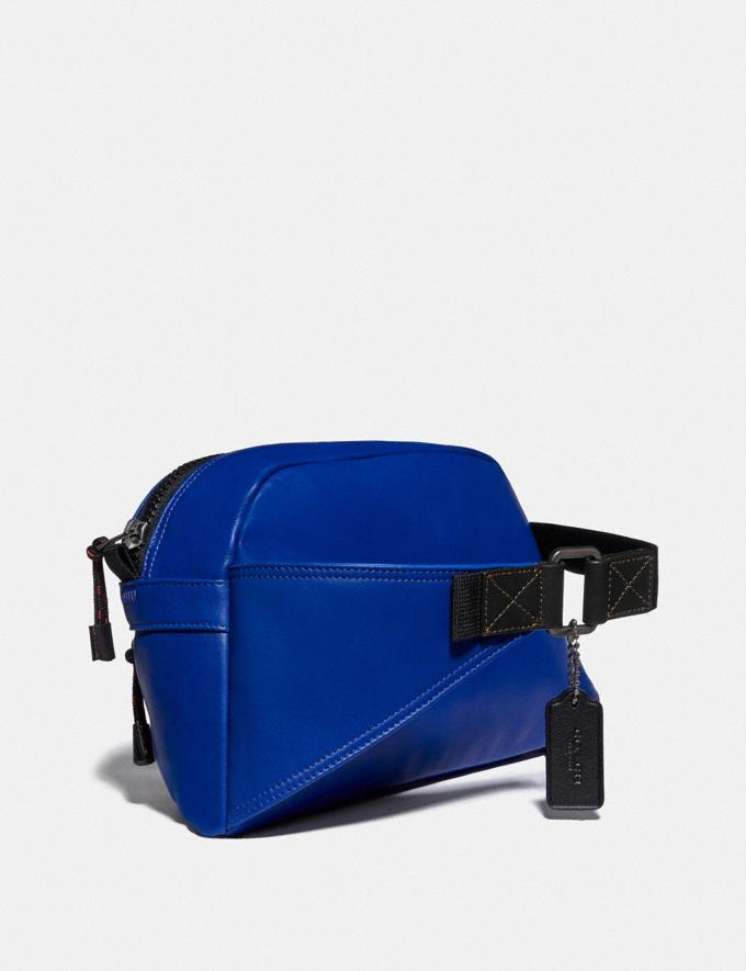 Coach Pacer Sport Pack With Coach Patch Black Copper/Sport Blue New Men's New Arrivals Bags Alternate View 1