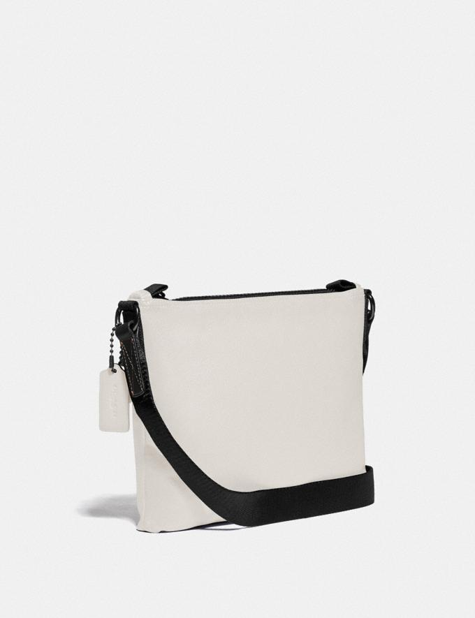 Coach Pacer Crossbody With Coach Patch Black Copper/Chalk New Men's New Arrivals Bags Alternate View 1