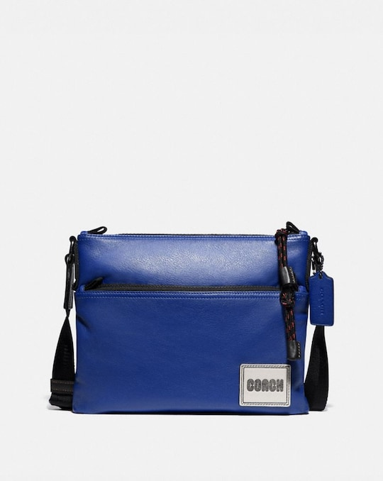 PACER CROSSBODY WITH COACH PATCH