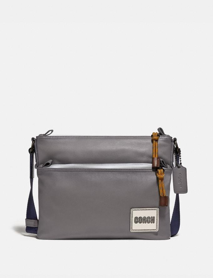 Coach Pacer Crossbody Black Copper/Heather Grey New Men's New Arrivals Bags
