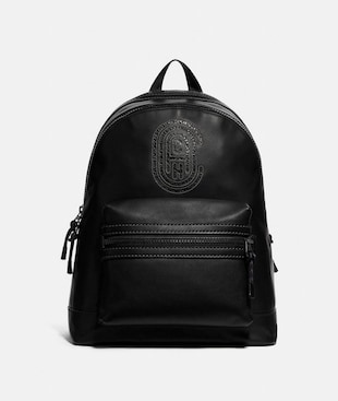 ACADEMY BACKPACK WITH COACH PATCH