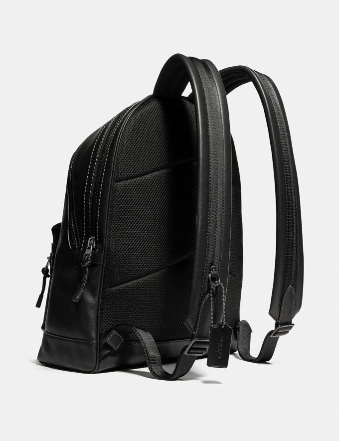 Coach Academy Backpack With Coach Patch Black Copper/Black Cyber Monday For Him Cyber Monday Sale Alternate View 1