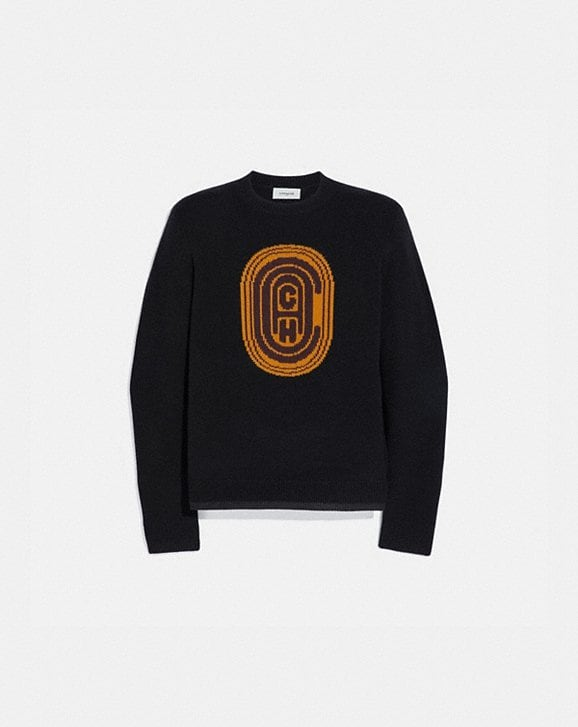 Coach COACH INTARSIA SWEATER
