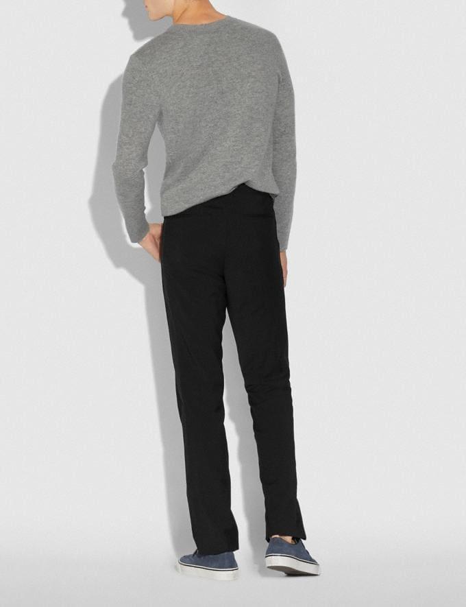 Coach Tuxedo Stripe Pants Black  Alternate View 2