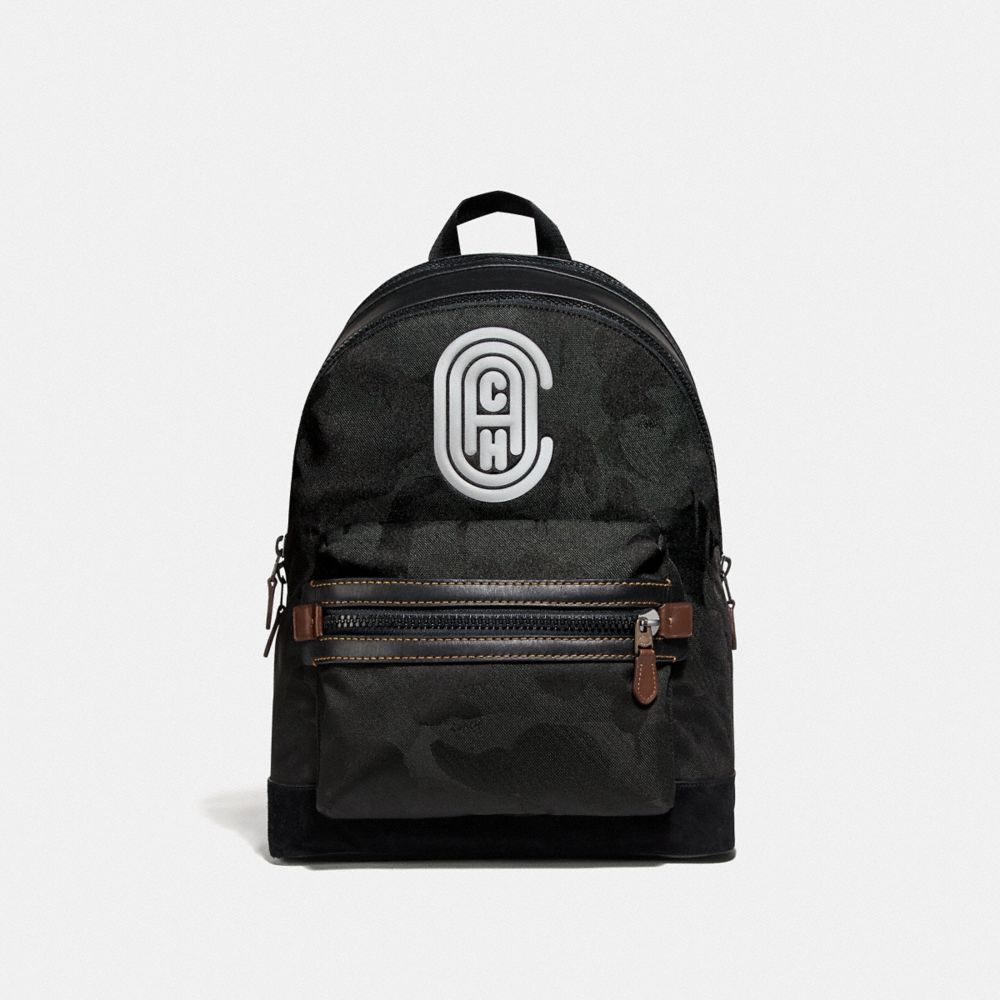 Coach Backpacks Academy Backpack With Wild Beast Print And Reflective Coach Patch