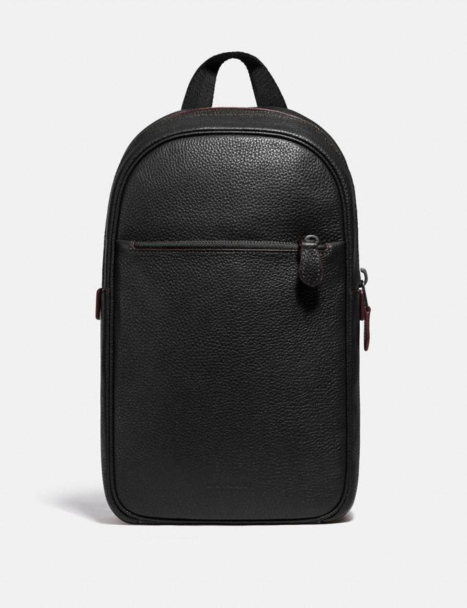 Coach Metropolitan Soft Pack Qb/Black Men Bags Backpacks