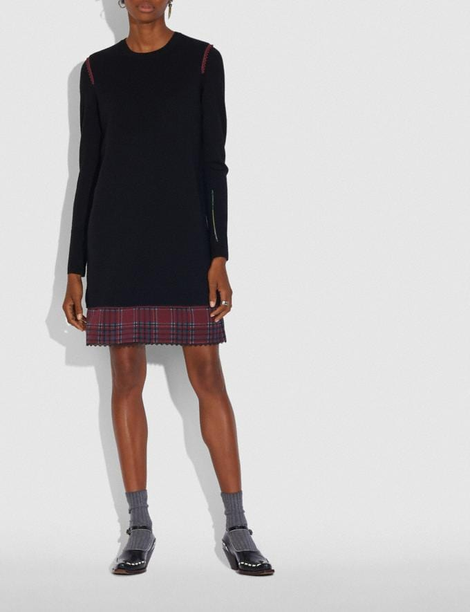 Coach Sweater Dress Black Women Ready-to-Wear Dresses Alternate View 1