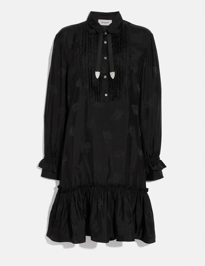 Coach Day Dress Black Women Ready-to-Wear Dresses