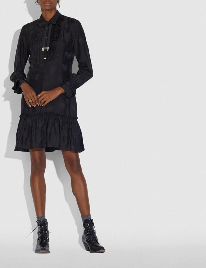 Coach Day Dress Black Women Ready-to-Wear Dresses Alternate View 1