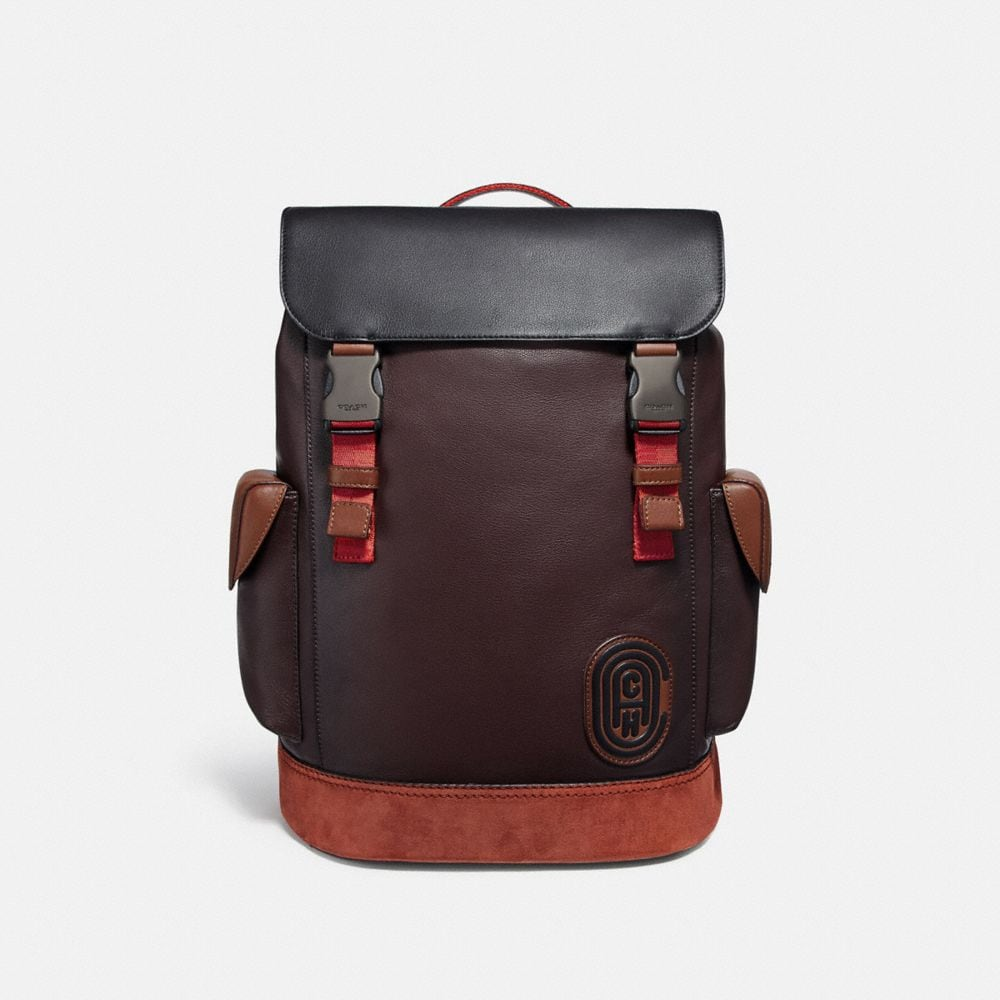 Coach Backpacks Rivington Backpack In Colorblock With Coach Patch
