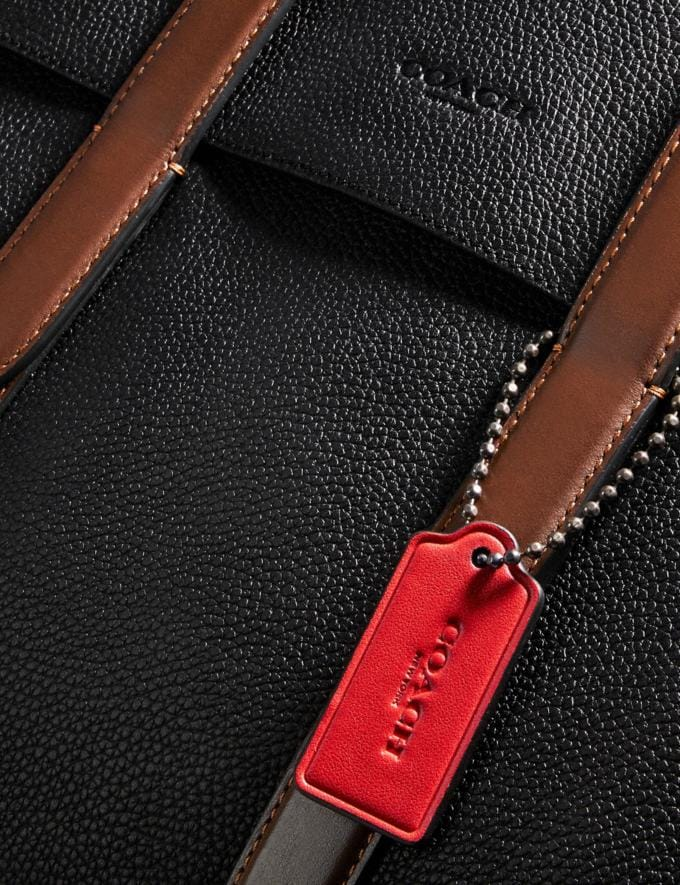 Coach Metropolitan Portfolio in Colorblock Black Copper/Black Multi New Men's New Arrivals Bags Alternate View 5
