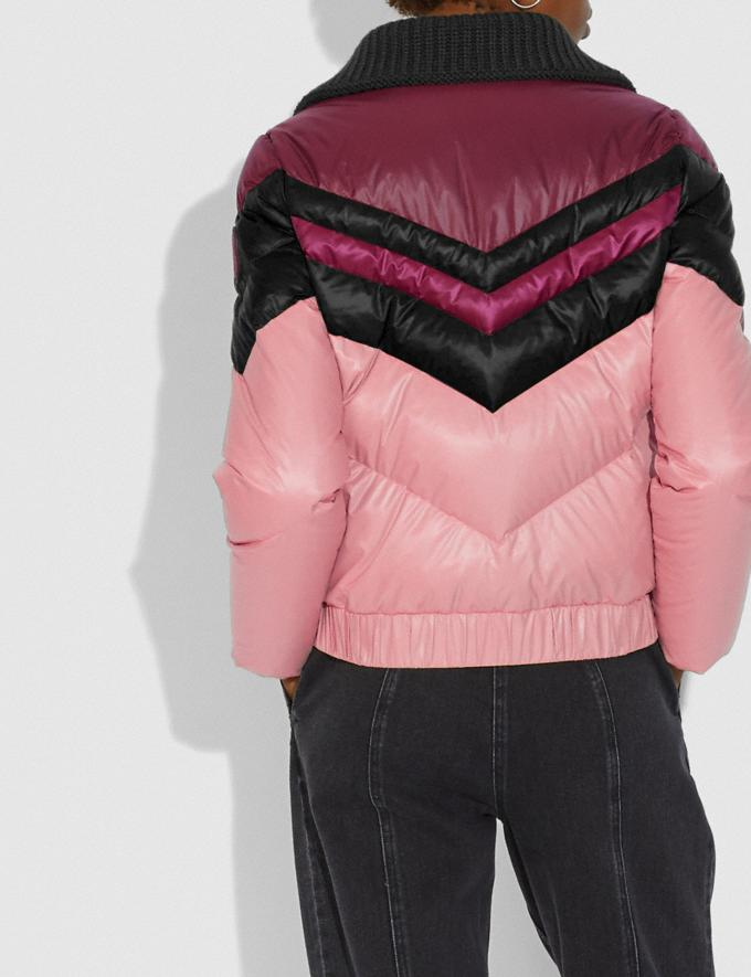 Coach Ski Jacket Pink  Alternate View 2