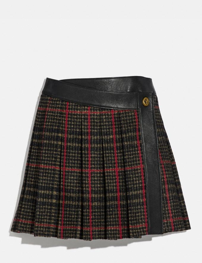 Coach Kilt Multi New Women's New Arrivals Collection