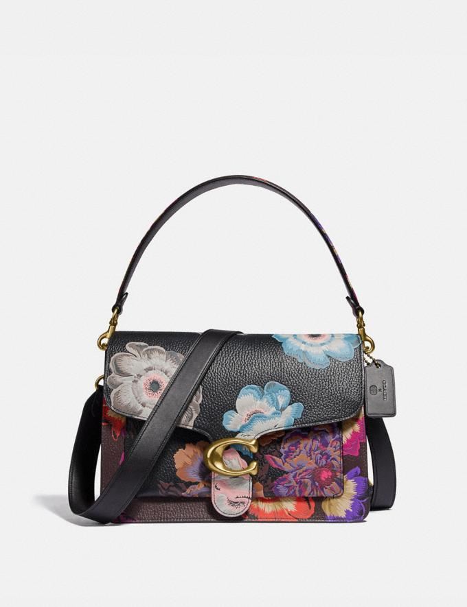 Coach Tabby Shoulder Bag With Kaffe Fassett Print Brass/Black Multi Women Handbags Crossbody Bags
