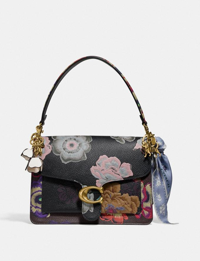 Coach Tabby Shoulder Bag With Kaffe Fassett Print Brass/Black Multi Women Handbags Crossbody Bags Alternate View 3