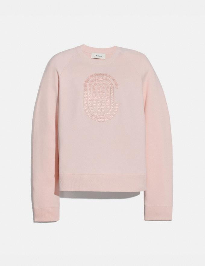 Coach Coach Sweatshirt Pink Women Ready-to-Wear Tops