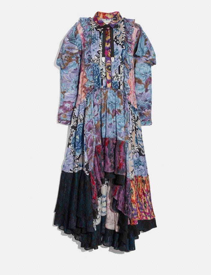 Coach Patchwork Dress With Kaffe Fassett Print Multi