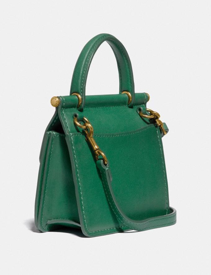 Coach Mini Willis B4/Green Women Handbags Crossbody Bags Alternate View 1