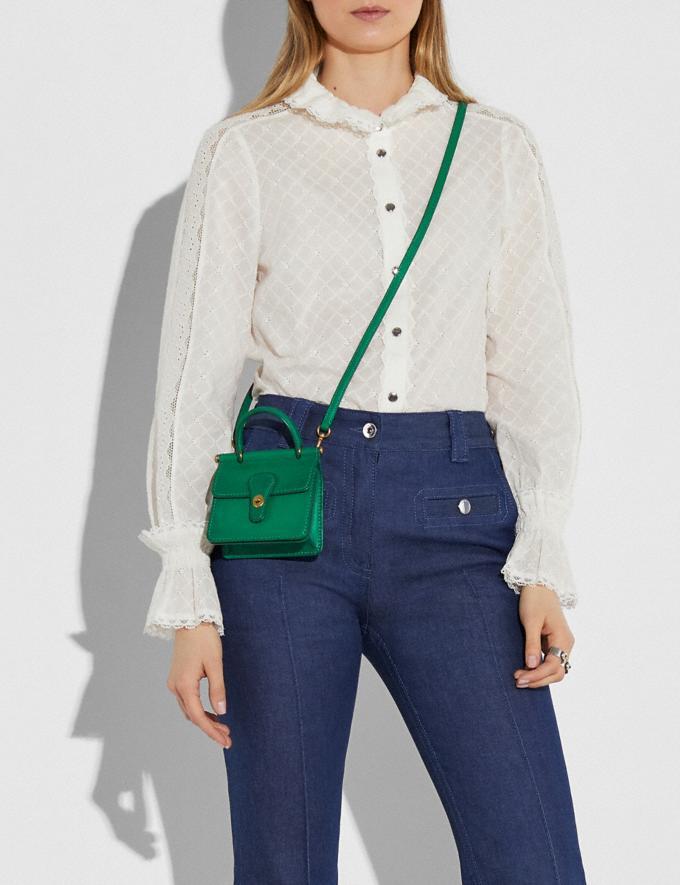 Coach Mini Willis B4/Green Women Handbags Crossbody Bags Alternate View 3