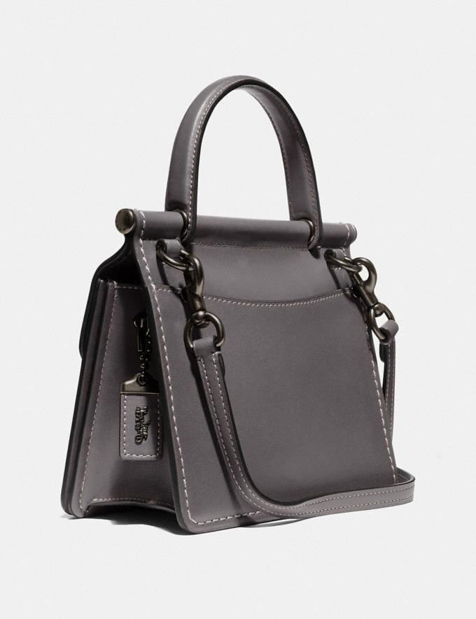 Coach Willis Top Handle 18 Pewter/Heather Grey New Featured Online Exclusives Alternate View 1