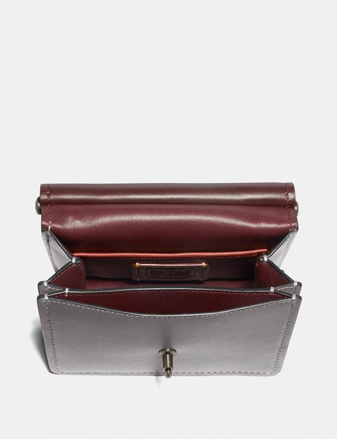Coach Willis Top Handle 18 Pewter/Heather Grey New Featured Online Exclusives Alternate View 2
