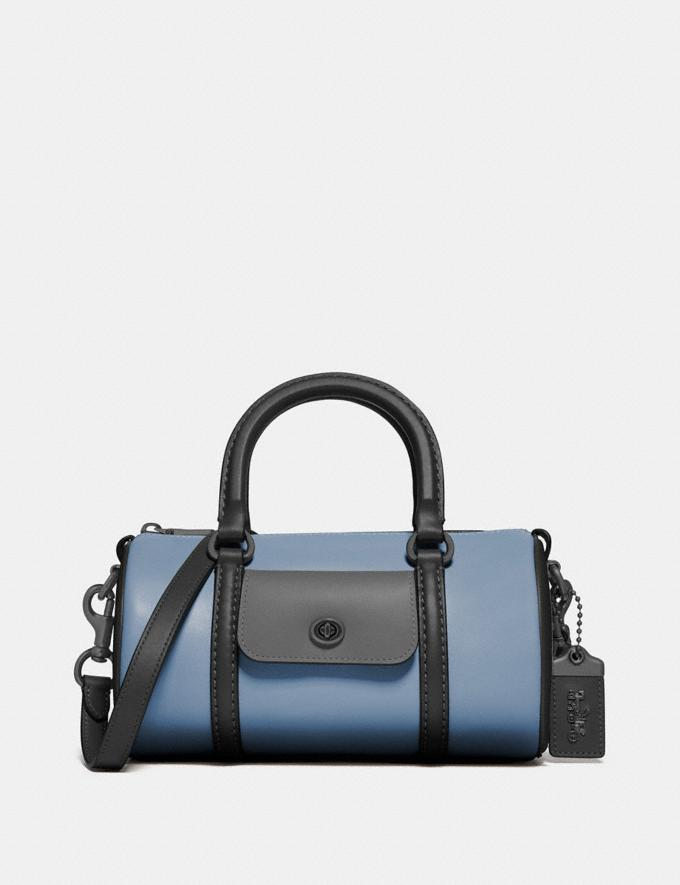 Coach Barrel Bag in Colorblock Pewter/Cornflower Multi New Women's New Arrivals View All