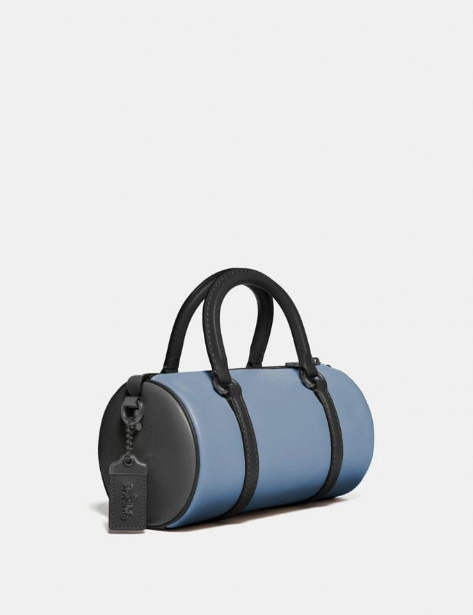 Coach Barrel Bag in Colorblock Pewter/Cornflower Multi New Women's New Arrivals View All Alternate View 1