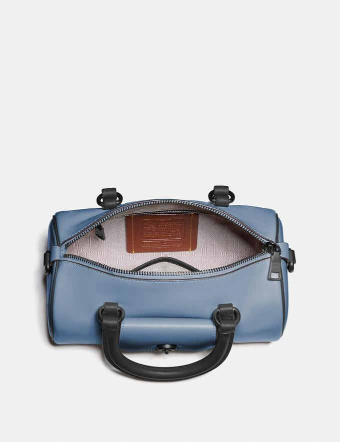 Coach Barrel Bag in Colorblock Pewter/Cornflower Multi New Women's New Arrivals View All Alternate View 2