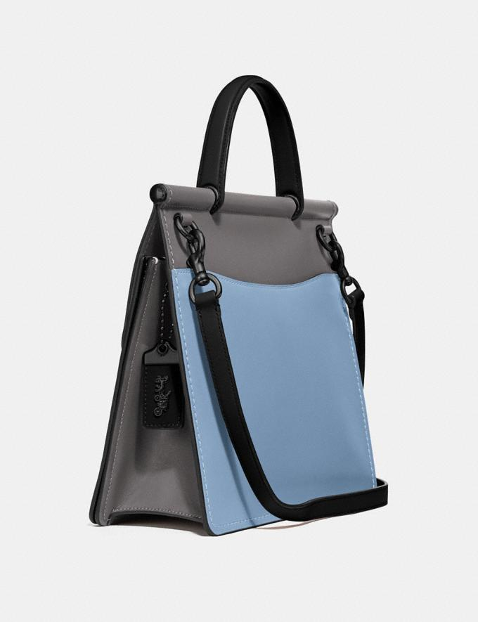 Coach Willis Top Handle in Colorblock Pewter/Cornflower Multi New Women's New Arrivals View All Alternate View 1
