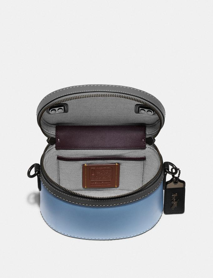 Coach Trail Bag in Colorblock Pewter/Cornflower Multi Women Handbags Crossbody Bags Alternate View 2