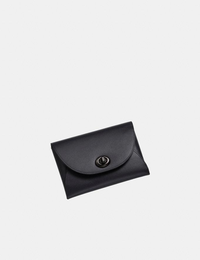 Coach Complimentary Card Case V5/Black SALE Shop by Price Under £150