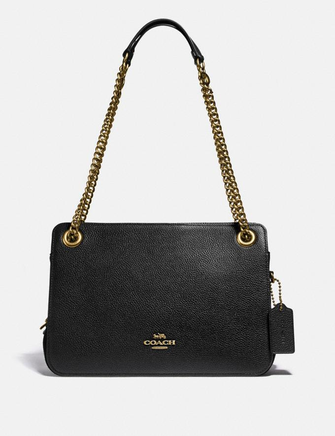 Coach Bryant Convertible Carryall Brass/Black SALE Women's Sale Bags