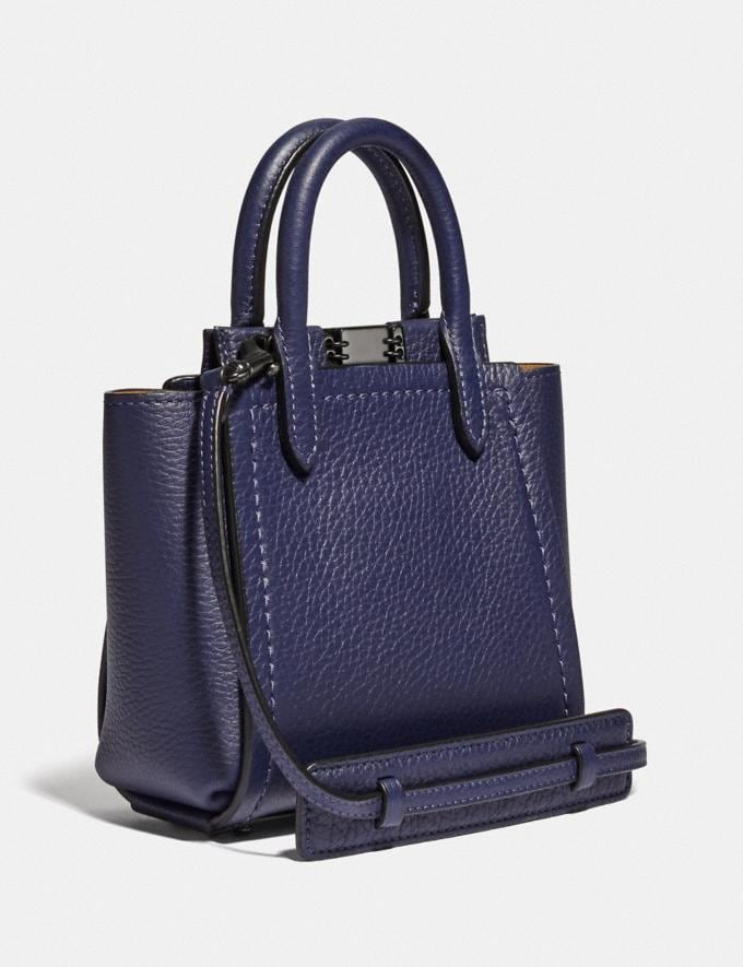 Coach Troupe Tote 16 Pewter/Cadet Women Alternate View 1