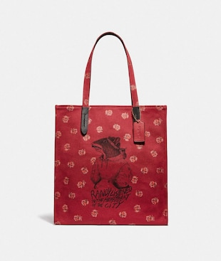 LUNAR NEW YEAR TOTE WITH RANDY THE RAT