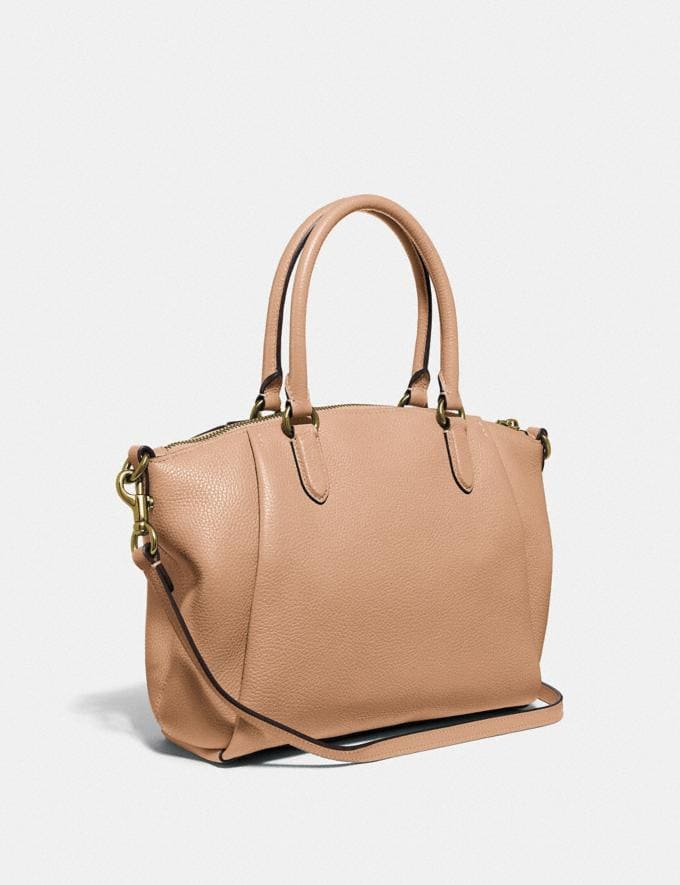 Coach Elise Satchel Lh/Taupe Cyber Monday For Her Cyber Monday Sale Alternate View 1