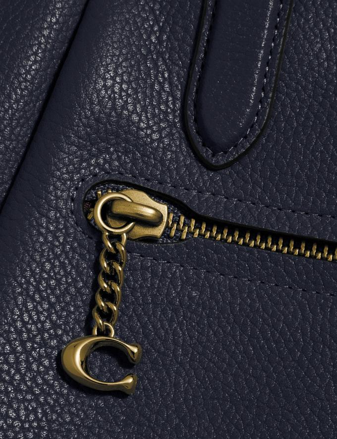 Coach Elise Satchel Gd/Midnight Navy Gifts For Her Alternate View 6