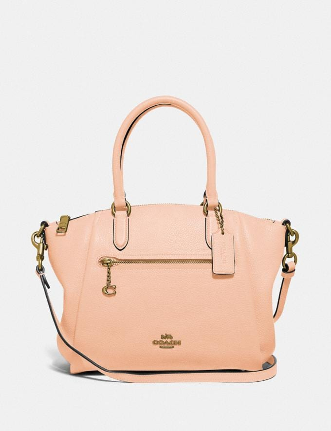 Coach Elise Satchel Gd/Faded Blush New Women's New Arrivals Bags