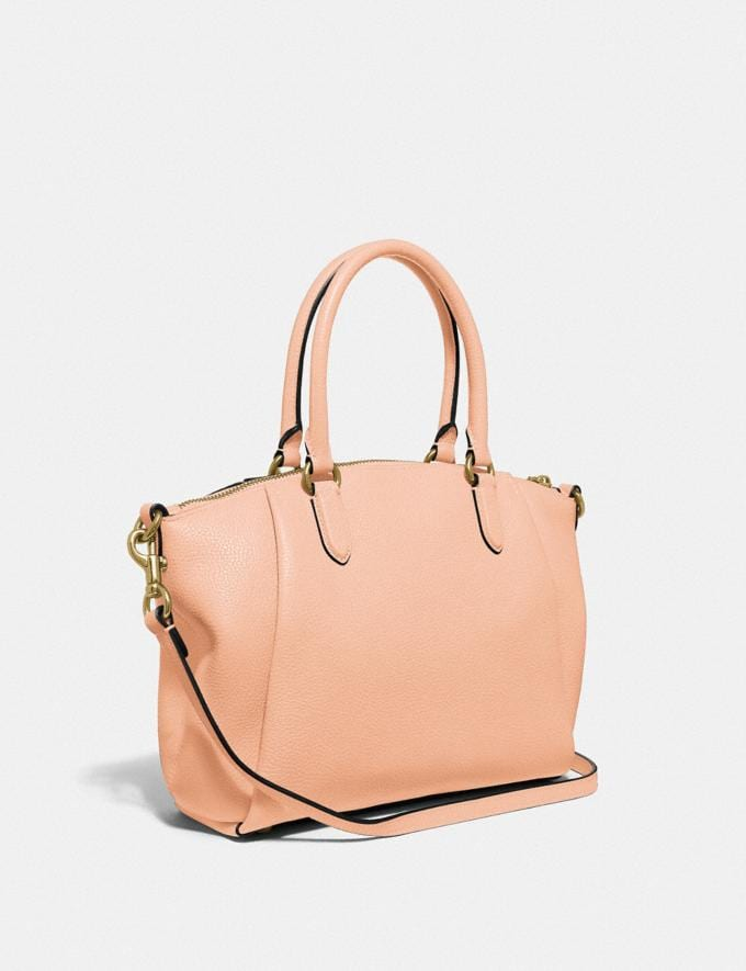 Coach Elise Satchel Gd/Faded Blush New Women's New Arrivals Bags Alternate View 1