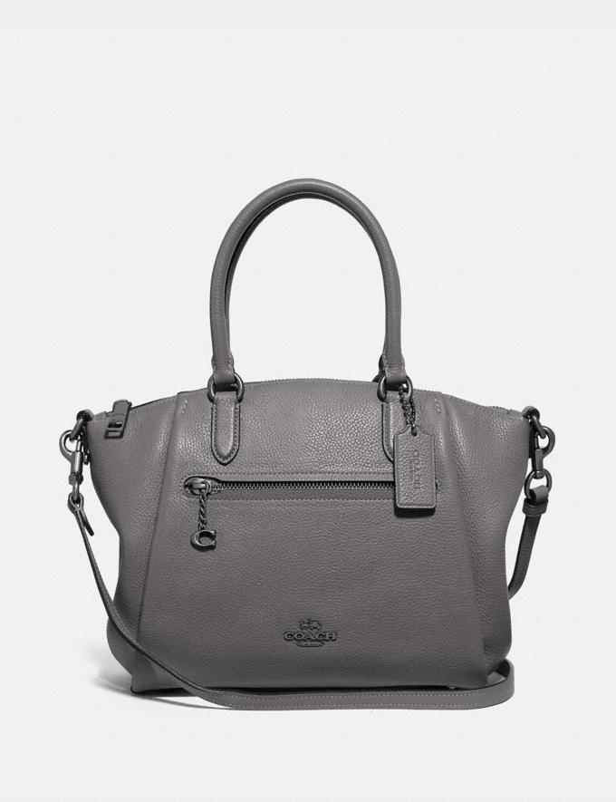 Coach Elise Satchel Gm/Heather Grey Women Bags Satchels