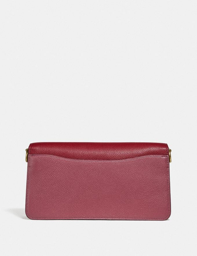 Coach Tabby Shoulder Bag 26 in Colorblock B4/Deep Red Multi Women Bags View All Alternate View 2