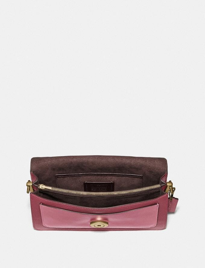 Coach Tabby Shoulder Bag 26 in Colorblock B4/Deep Red Multi Women Bags View All Alternate View 3