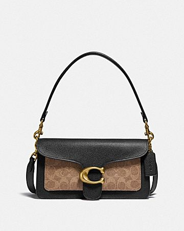 tabby shoulder bag 26 in signature canvas