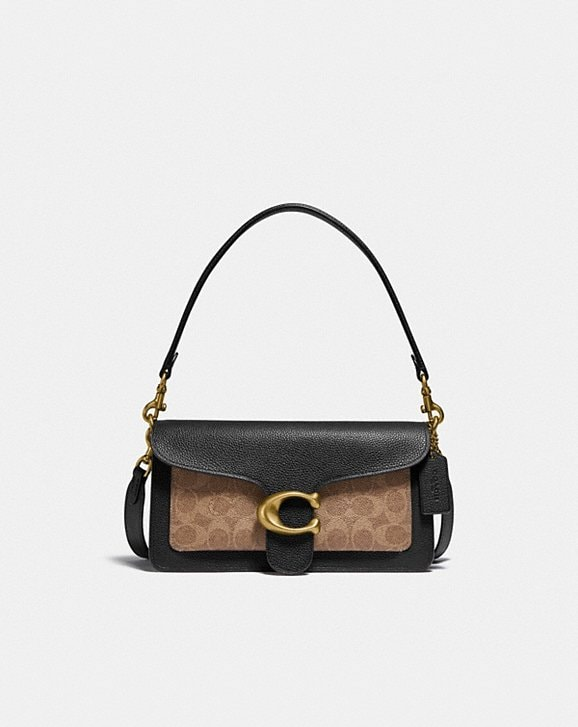 Coach TABBY SHOULDER BAG 26 IN SIGNATURE CANVAS