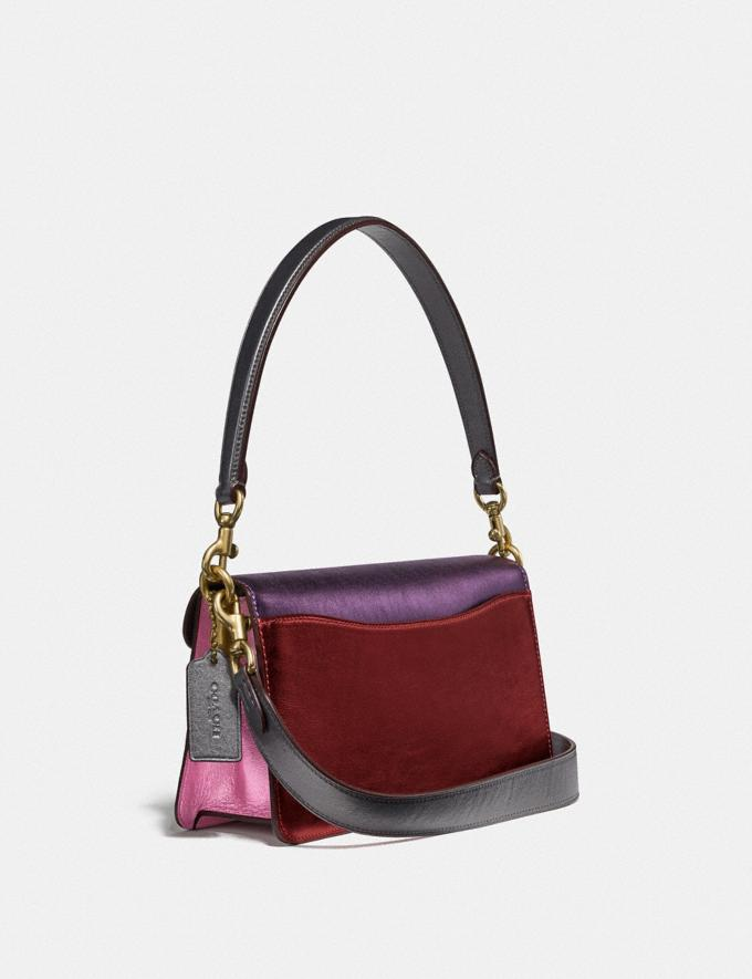 Coach Tabby Shoulder Bag 26 in Colorblock Brass/Multi Women Handbags Shoulder Bags & Hobos Alternate View 1