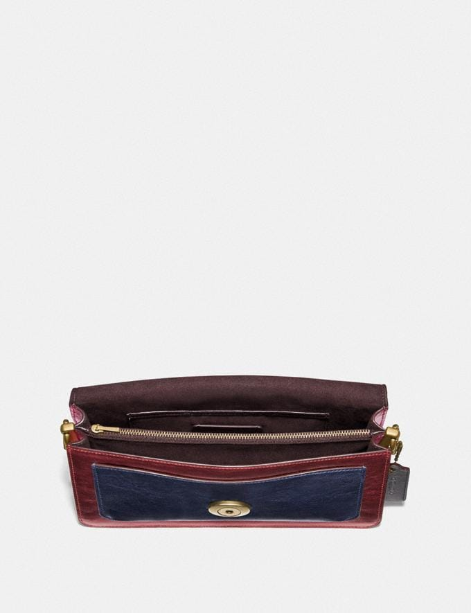 Coach Tabby Shoulder Bag 26 in Colorblock Brass/Multi Women Handbags Shoulder Bags & Hobos Alternate View 3