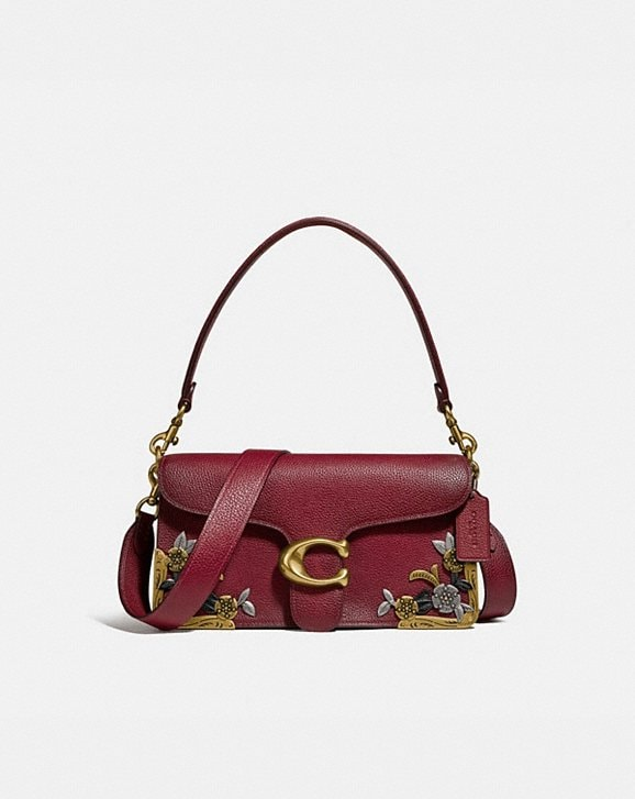 Coach TABBY SHOULDER BAG 26 WITH TEA ROSE
