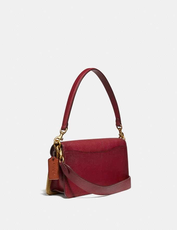 Coach Tabby Shoulder Bag 26 With Tea Rose Brass/Deep Red Women Handbags Shoulder Bags & Hobos Alternate View 1